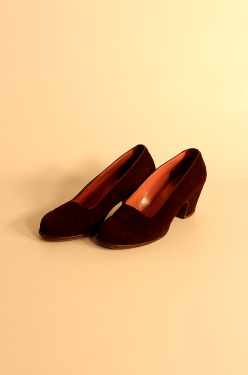 damen-wildleder-pumps-vintage