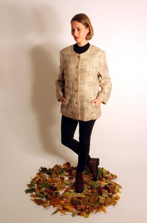 vintage-blazer-jacke-beige-braun