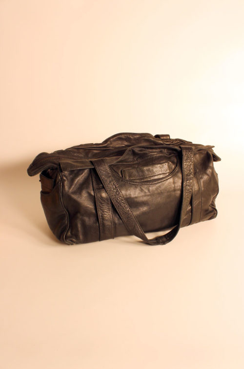 damen-ledertasche-schwarz