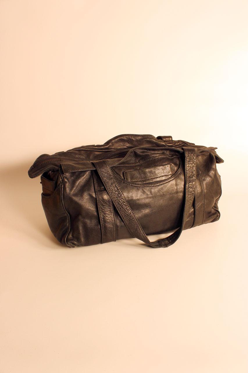 vintage ledertasche schwarz die isabella oma klara. Black Bedroom Furniture Sets. Home Design Ideas