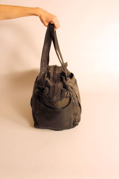 vintage-ledertasche-schwarz