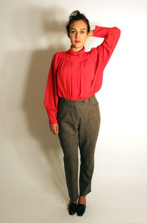 vintage-bluse-rot-vorne
