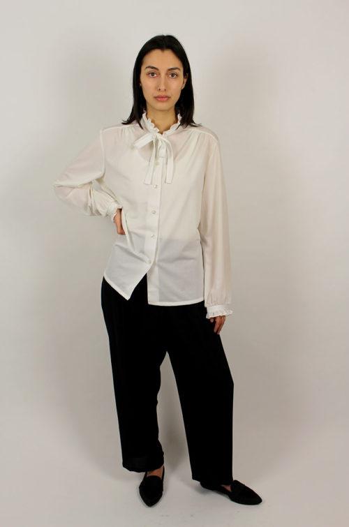 Vintage-Bluse-Damen