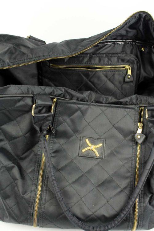 Damen-Reisetasche-Schwarz