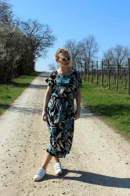 Sommer-Kleid-Vintage