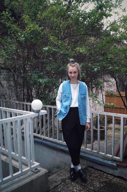 Damen-Jeansweste