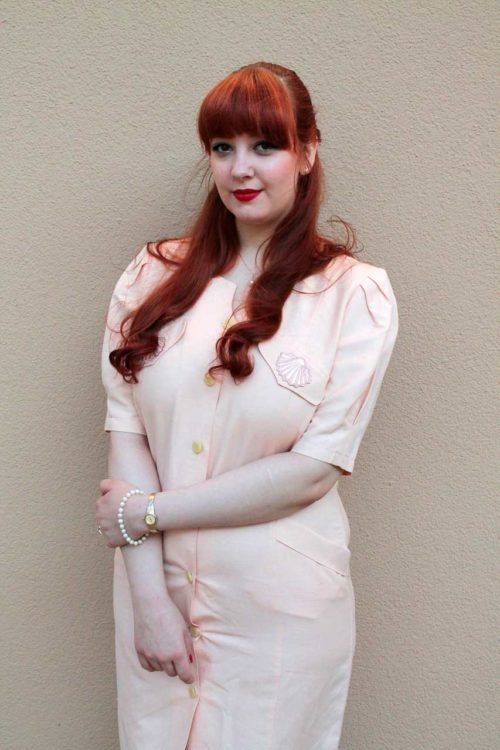 Vintage-Sommerkleid