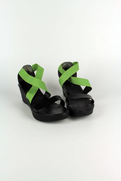 Sandale-schwarz