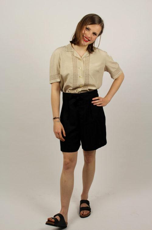 Vintage-Damen-Bluse