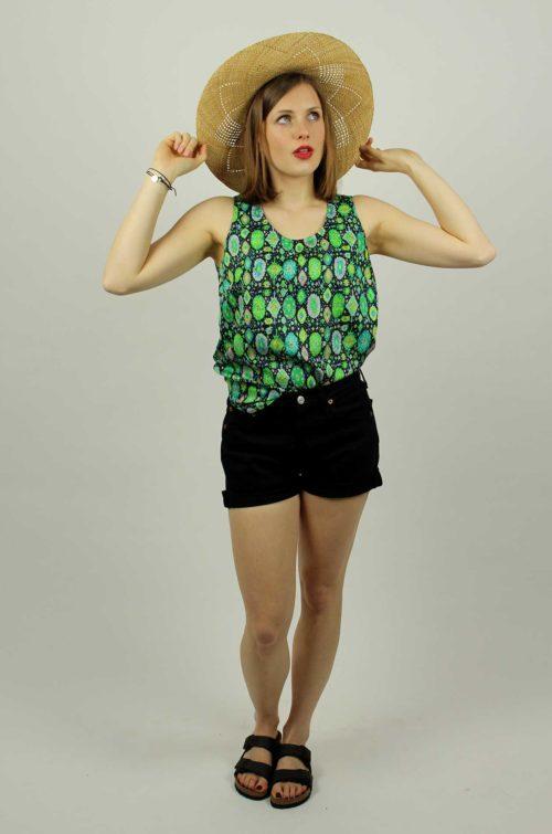 Vintage-Shirt-Bluse