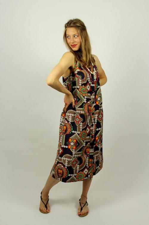 Vintage-Sommer-Kleid
