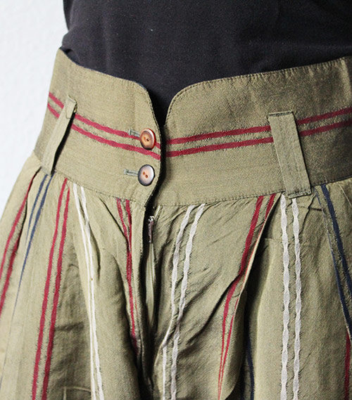 Highwaist Muster Hose