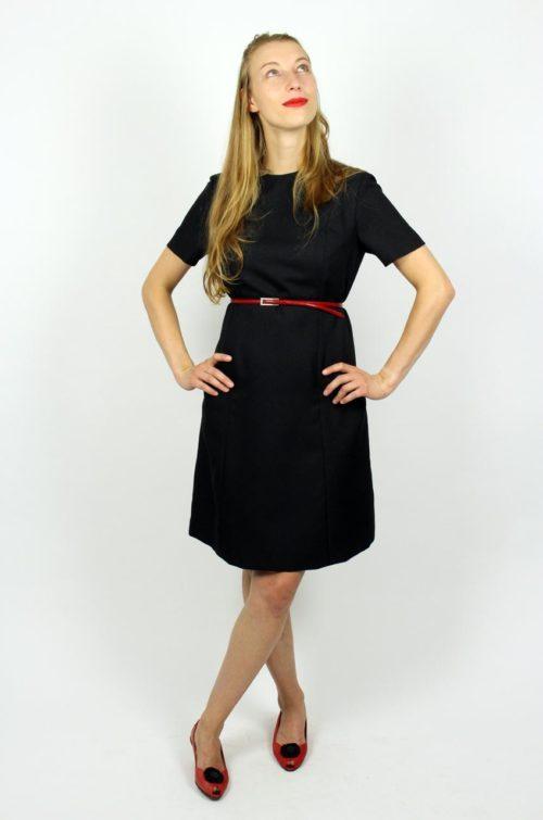 Kleid Schwarz Klassisch