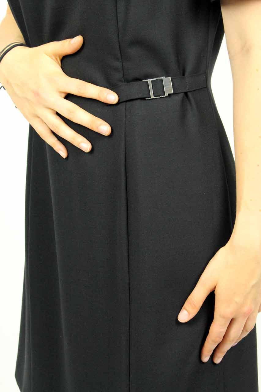 f35b23212766ee Vintage Kleid Schwarz Kurz. Secondhand Abendmode Festlich