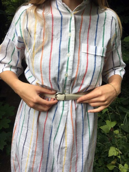 Sommerkleid mit Streifen