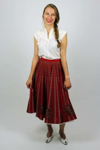 Vintage Rock hohe Taille