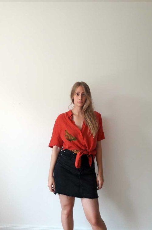 rote Bluse online kaufen