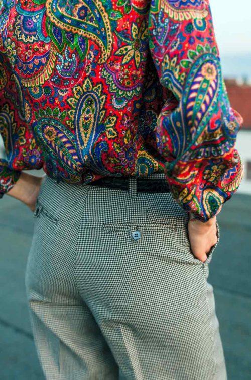 Secondhand Bluse bunt