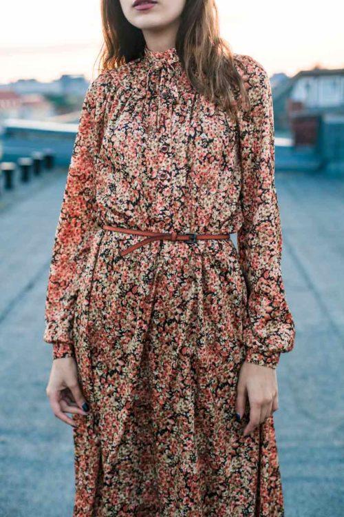 Secondhand Kleid langarm