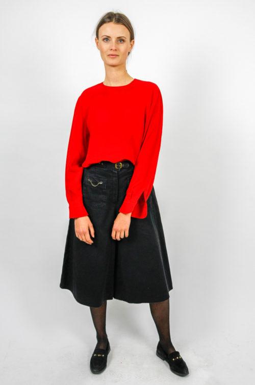 Designer Bluse Rot
