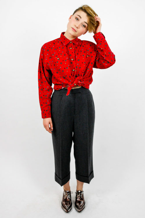 culotte grau vintage