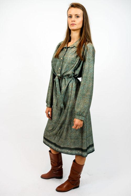 kleid vintage muster