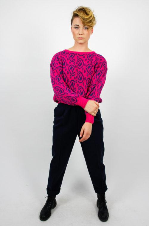 pulli mit blau leo pink