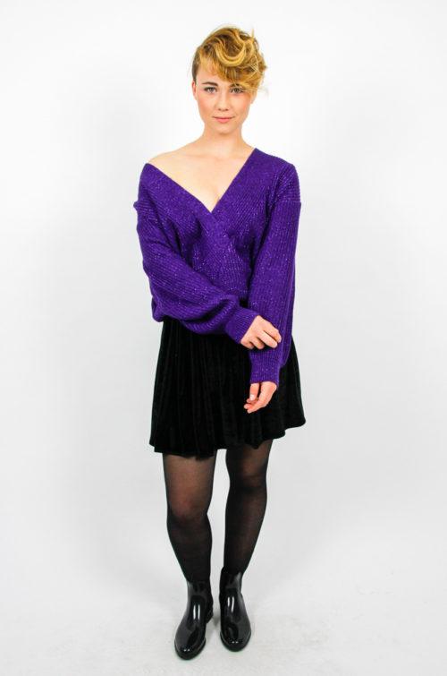 pulli oversize lila