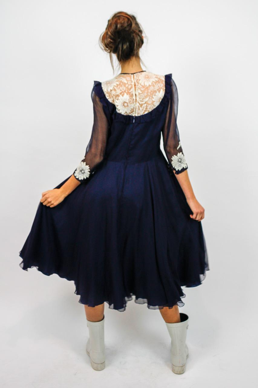 "Vintage Kleid Festlich ""Lynn""   Oma Klara"