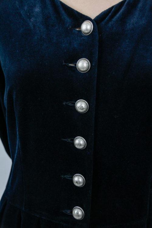 Kleid detail schwarz