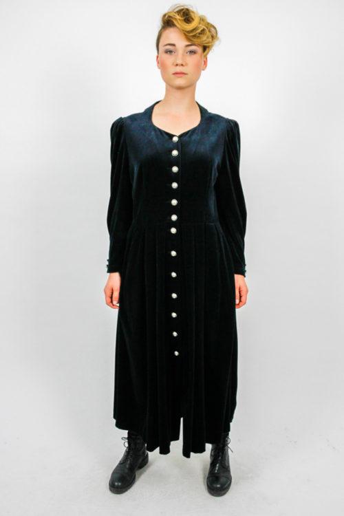 Kleid silberne Knöpfe (1)