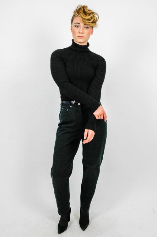 Vintage Jeans schwarz