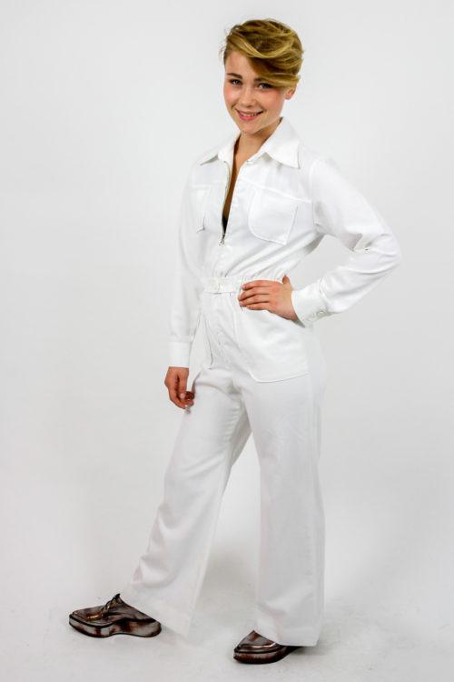 jumpsuit weiß lang