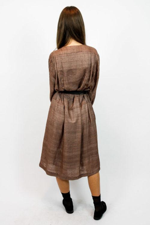 kleid vintage taillenband