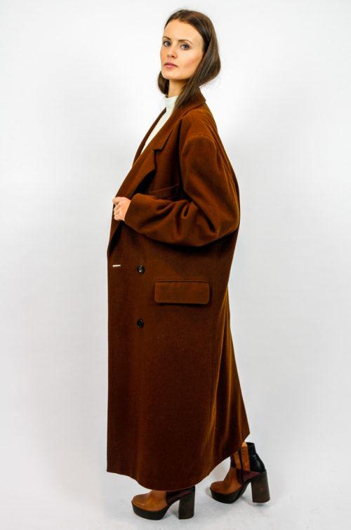 langer mantel wolle