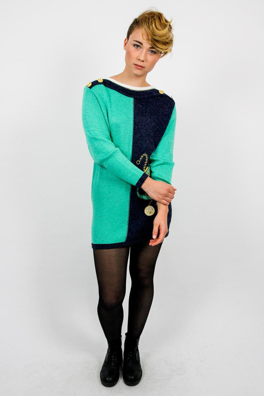 4f70535b8edf Kleid pulli muster