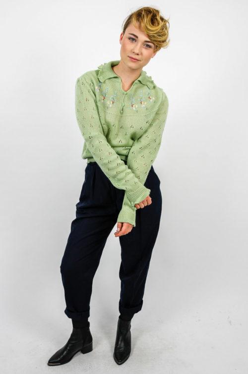 pullover hell grün