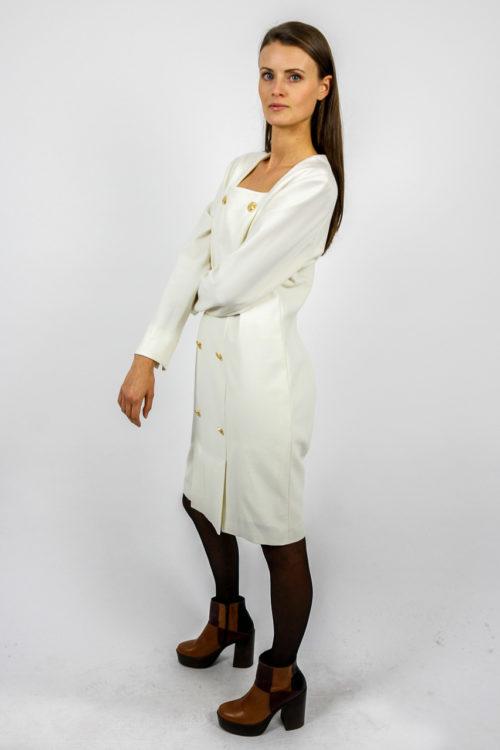 secondhand dress white