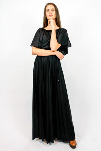 vintage kleid faltenrock