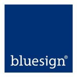 blue sign