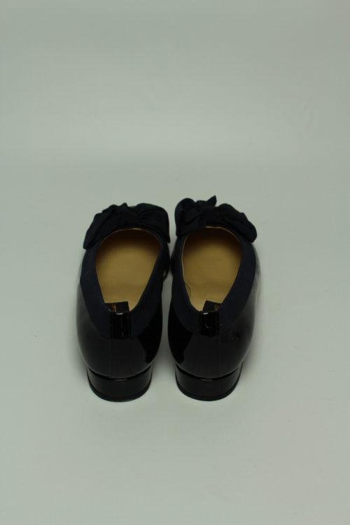 ballerina schwarz lack