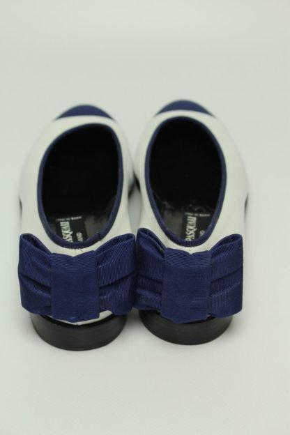 blau weiß schleife