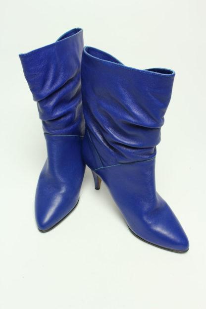 königsblau absatz boots