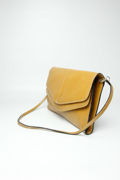 secondhand ledertasche braun