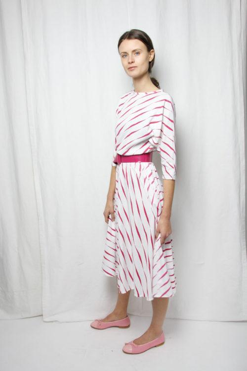 trend dress stripes