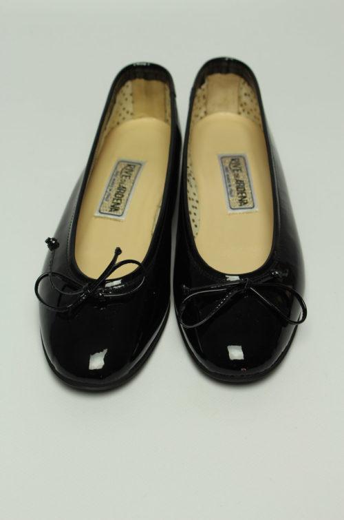 vintage Ballerina schwarz