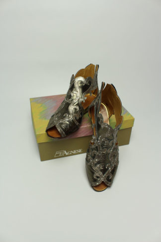 vintage Sandale gold