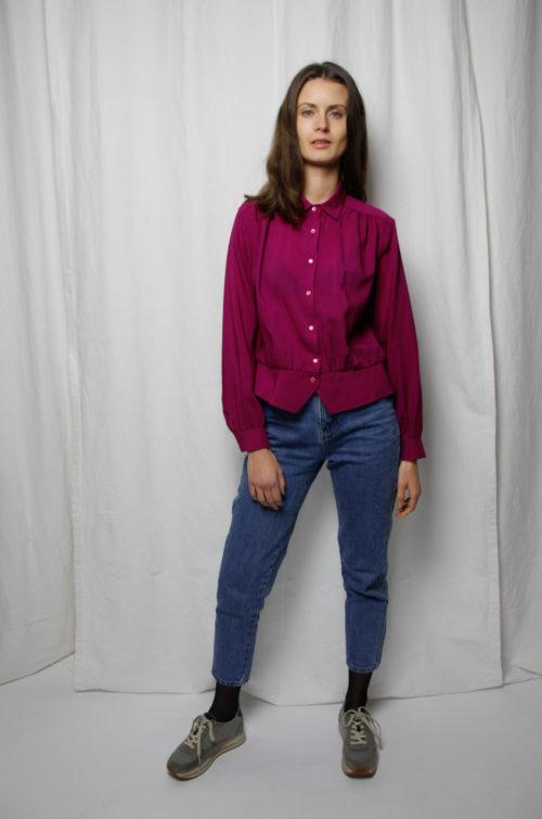 vintage bluse pink