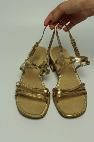 vintage sandale absatz