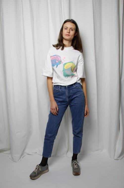 vintage shirt fische